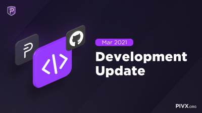 Dev Update March 2021